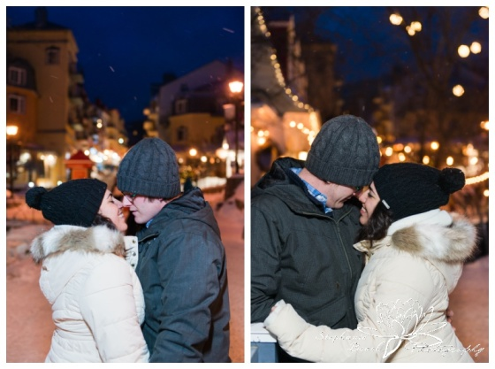 Mount-Tremblant-Engagement-Session-Stephanie-Beach-Photography-ski-resort-night