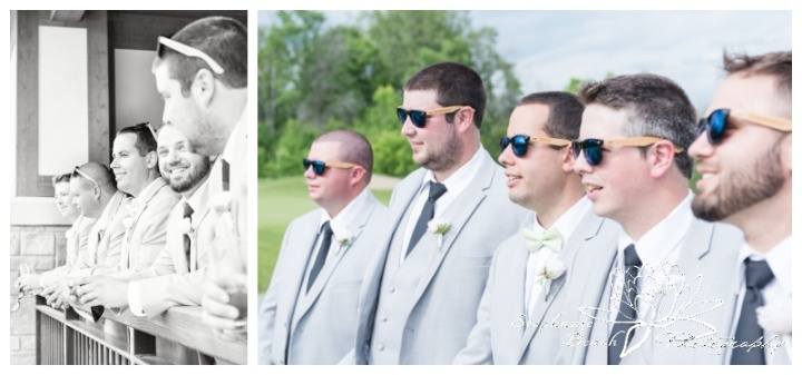 Gatineau-Golf-Club-Wedding-Stephanie-Beach-Photography-groom-groomsmen-sunglasses