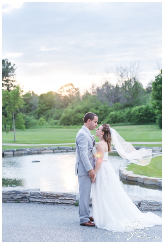 Gatineau-Golf-Club-Wedding-Stephanie-Beach-Photography-sunset-bride-groom