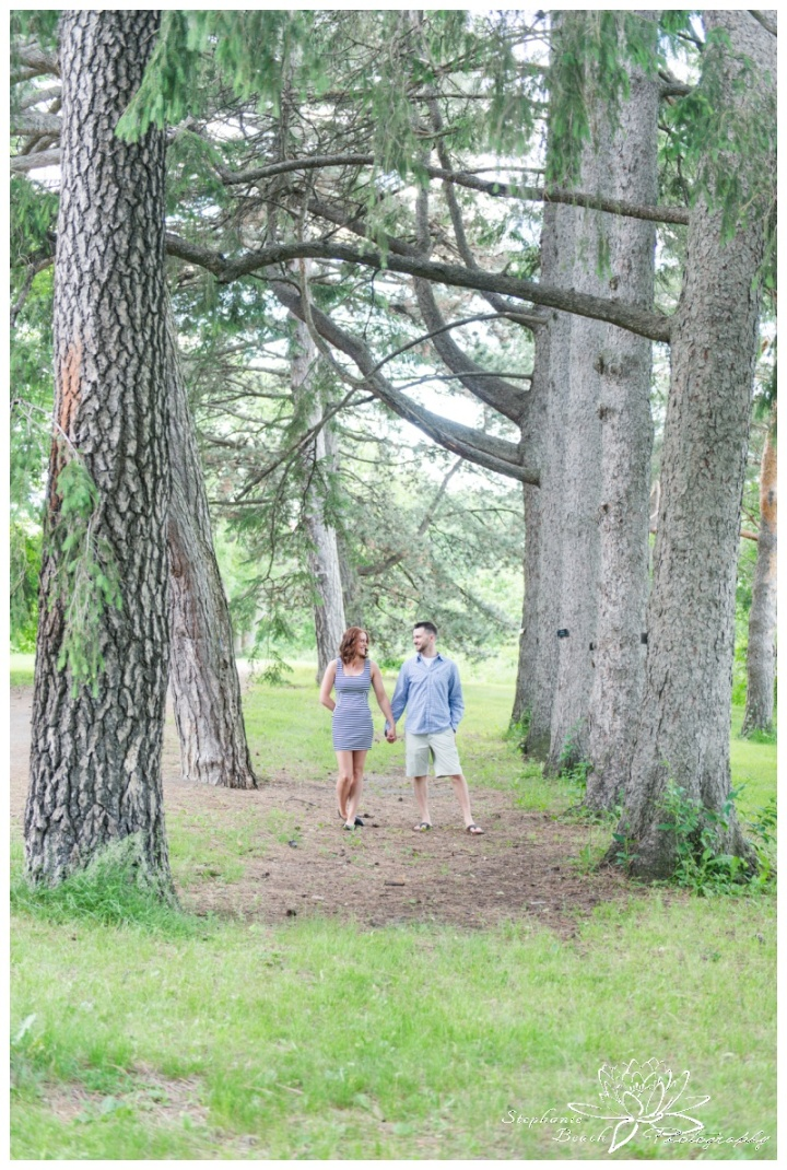 Ottawa-Arboretum-Engagement-Session-Stephanie-Beach-Photography-pine-trees