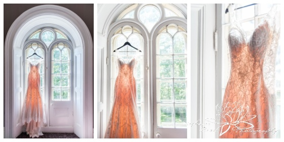 Strathmere-Inn-DIY-Wedding-Stephanie-Beach-Photography-dress-window