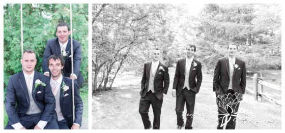 Strathmere-Inn-DIY-Wedding-Stephanie-Beach-Photography-groom-bride-bridesmaids-groomsmen-portrait