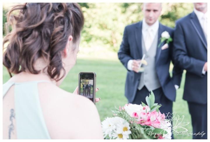 Strathmere-Inn-DIY-Wedding-Stephanie-Beach-Photography-selfie