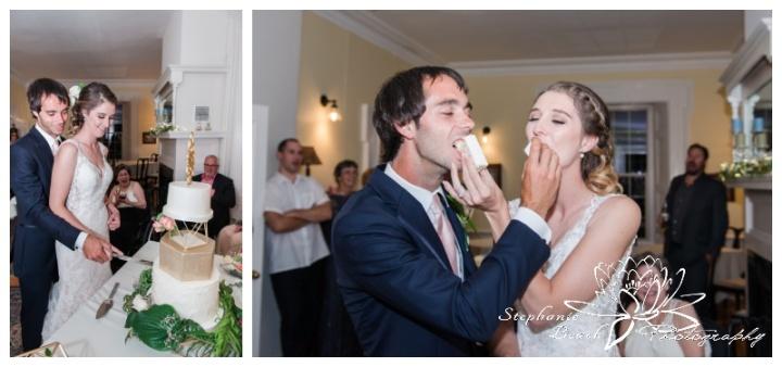 Strathmere-Inn-DIY-Wedding-Stephanie-Beach-Photography-reception-cake-cuting