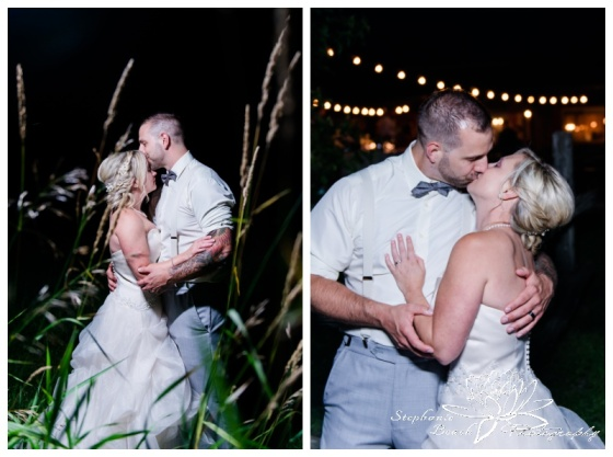 Strathmere-Lodge-Wedding-Stephanie-Beach-Photography-bride-groom-night-edison-bulbs-grass