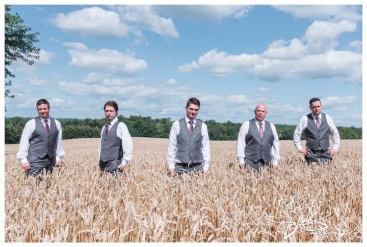 Evermore-Wedding-Ottawa-Stephanie-Beach-Photography-groom-groomsmen-wheat-field