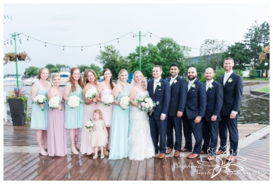 Ottawa-Lago-Wedding-Stephanie-Beach-Photography-bridesmaids-groomsmen-portrait