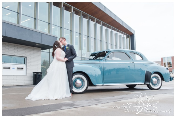 Ottawa-Public-Library-Wedding-Stephanie Beach-Photography-classic-car
