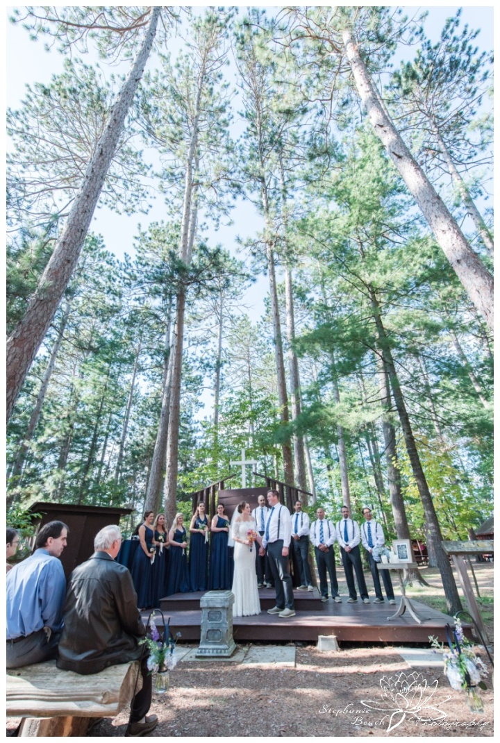 Red Pine Camp Golden Lake Wedding Stephanie Beach Photography 20