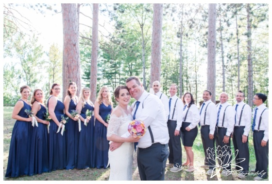 Red Pine Camp Golden Lake Wedding Stephanie Beach Photography 24