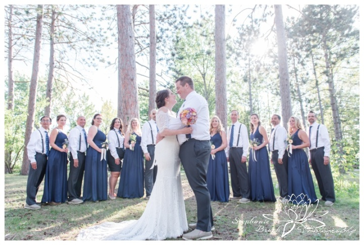 Red Pine Camp Golden Lake Wedding Stephanie Beach Photography 25