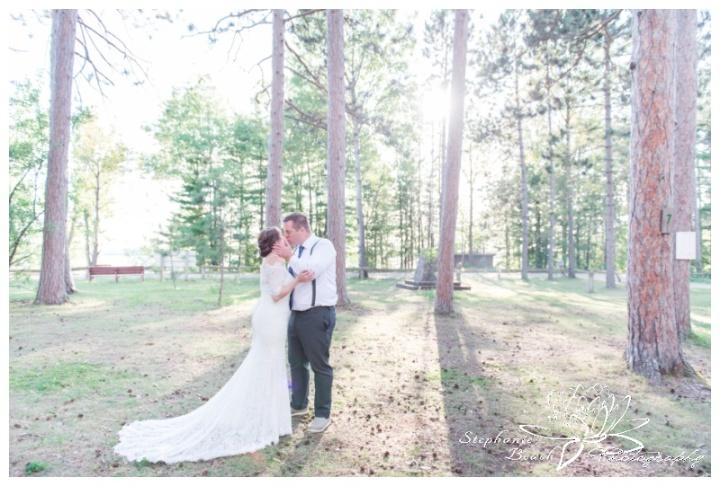 Red Pine Camp Golden Lake Wedding Stephanie Beach Photography 29