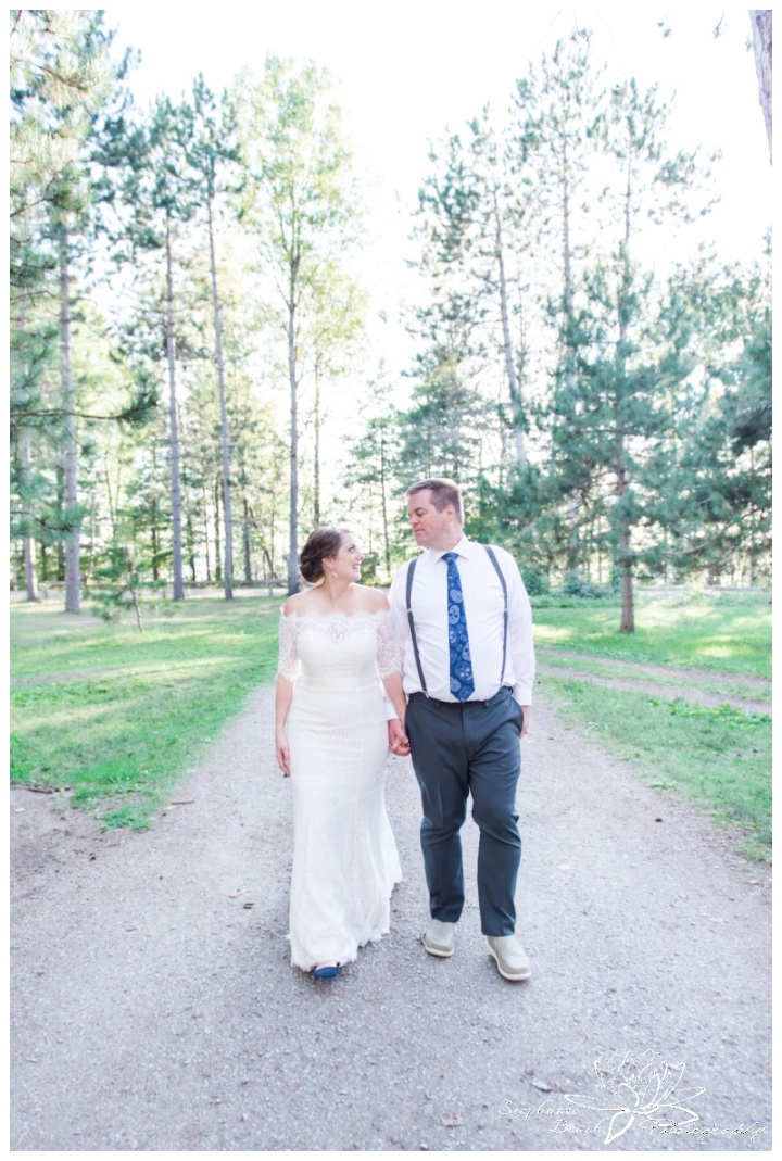 Red Pine Camp Golden Lake Wedding Stephanie Beach Photography 30