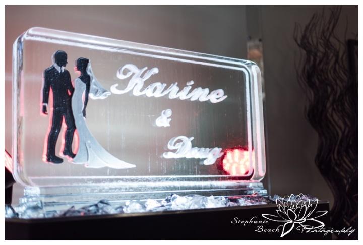 Wendake-Hôtel-Musée-Premières-Nations-Wedding-Stephanie-Beach-Photography-reception-ice-sculpture