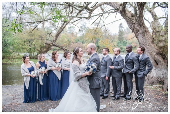 Hogs-Back-Park-Wedding-Stephanie-Beach-Photography-bride-groom-party-bridesmaids-groomsmen