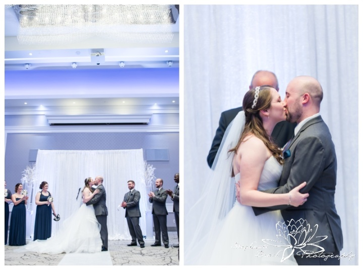 Infinity-Centre-Ottawa-Wedding-Stephanie-Beach-Photography-ceremony-first-kiss