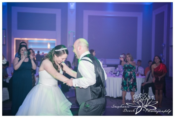 Infinity-Centre-Ottawa-Wedding-Stephanie-Beach-Photography-reception-dancing-bride-groom