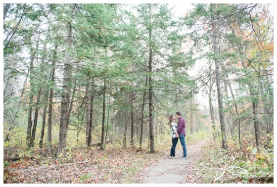 Jack-Pine-Trail-Engagement-Session-Stephanie-Beach-Photography-fall-colours-pine-trees