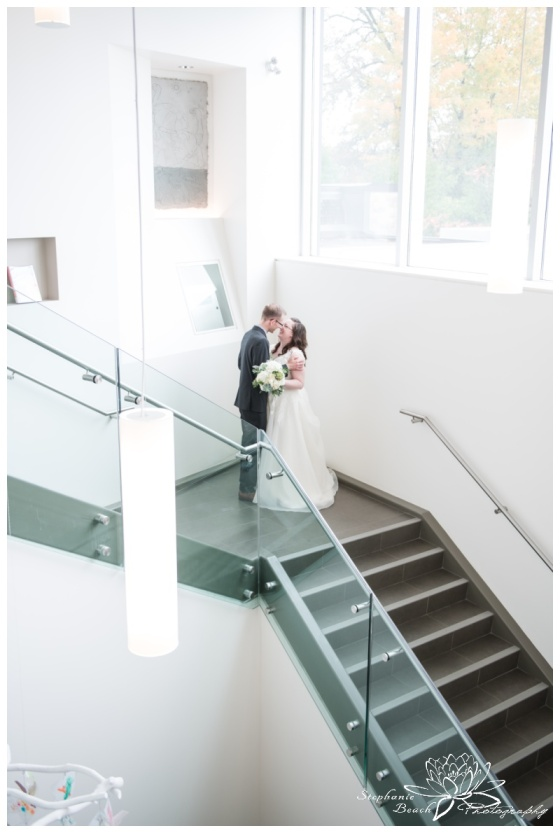 Ottawa-Public-Library-Wedding-Stephanie-Beach-Photography-bride-groom-portrait-stairs