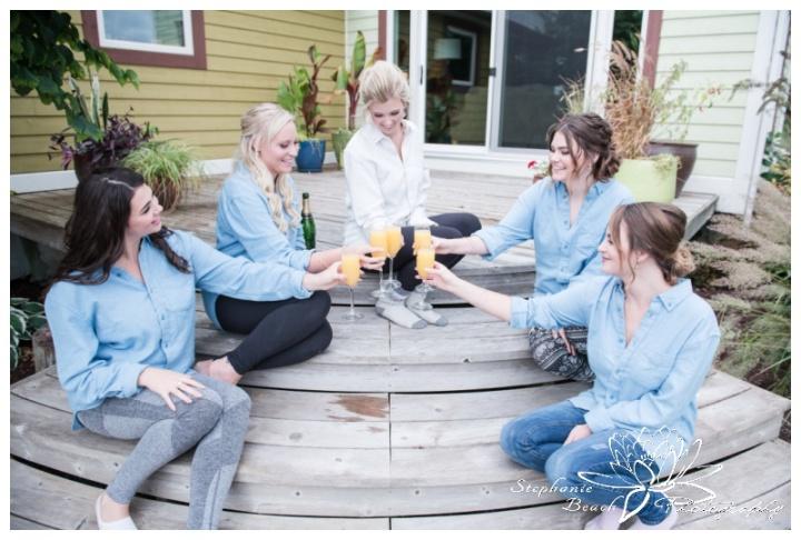 Stanleys-Olde-Maple-Lane-Farm-Wedding-Stephanie-Beach-Photography-prep-champagne
