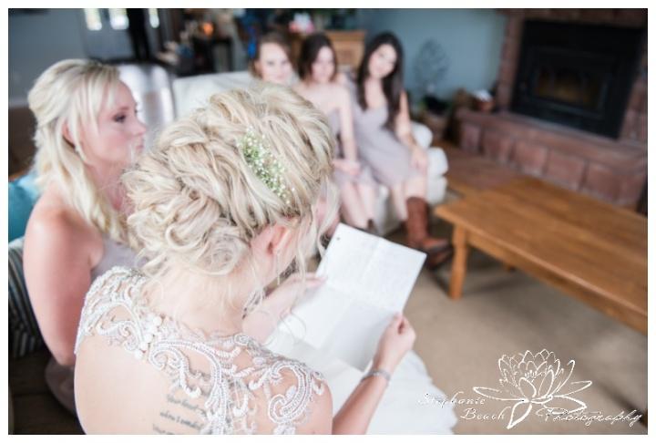 Stanleys-Olde-Maple-Lane-Farm-Wedding-Stephanie-Beach-Photography-bride-bridesmaids-prep-letter
