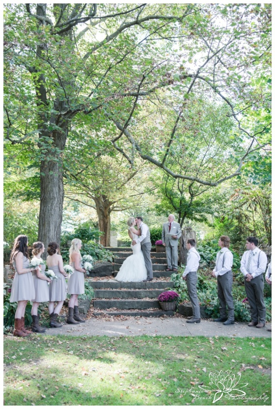 Stanleys-Olde-Maple-Lane-Farm-Wedding-Stephanie-Beach-Photography-ceremony-stone-steps
