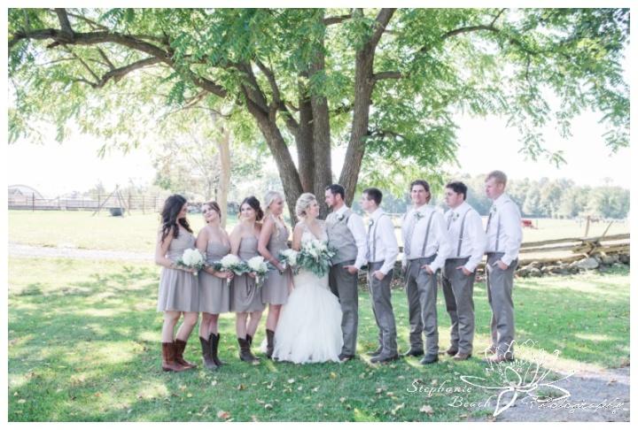 Stanleys Olde Maple Lane Farm Wedding Stephanie Beach Photography 37