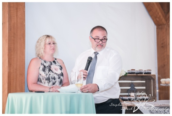 Stanleys-Olde-Maple-Lane-Farm-Wedding-Stephanie-Beach-Photography-reception-speeches