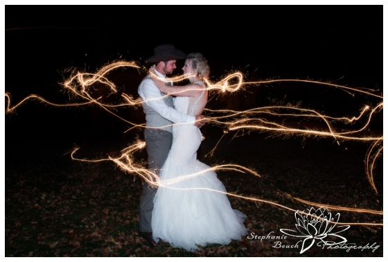 Stanleys-Olde-Maple-Lane-Farm-Wedding-Stephanie-Beach-Photography-sparklers-night-bride-groom