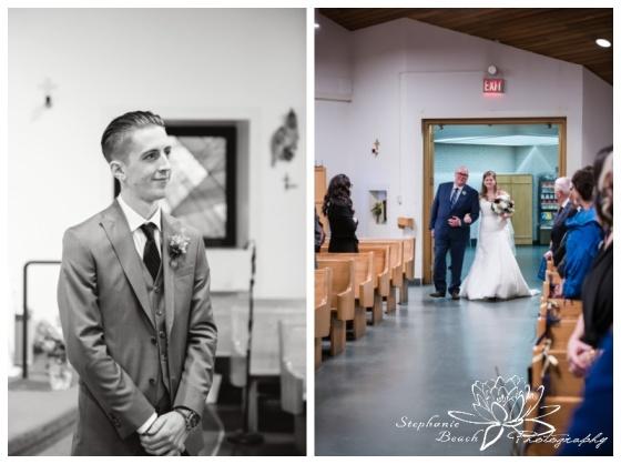 Ottawa-Fall-Wedding-Stephanie-Beach-Photography-ceremony-church-bride-father