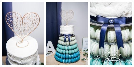 Ottawa-Fall-Wedding-Stephanie-Beach-Photography-reception-cake-macarons