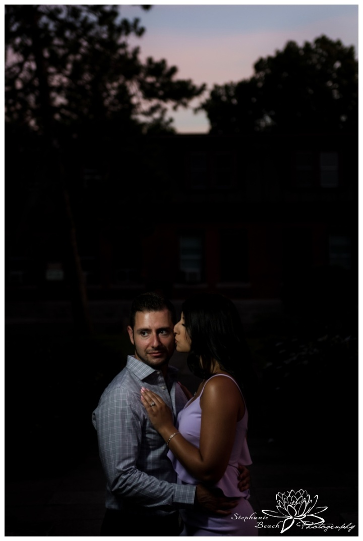 Ottawa-Ornamental-Gardens-Engagement-Session-Stephanie-Beach-Photography-sunset-night