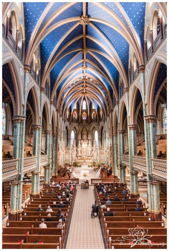 Ottawa-Notre-Dame-Cathedral-Wedding-Stephanie-Beach-Photography