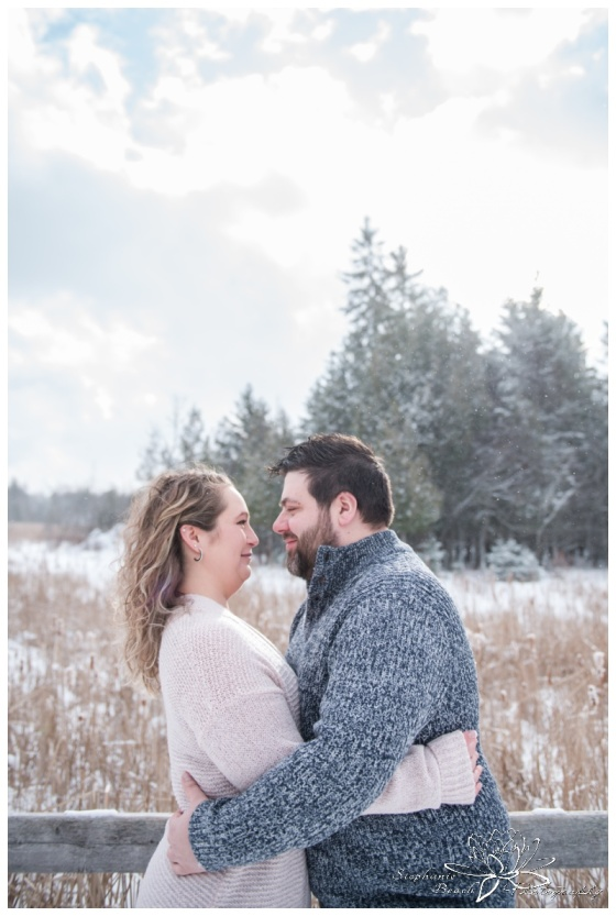 Jack-Pine-Trail-Watson's-Mill-Winter-Engagement-Session-Stephanie-Beach-Photography