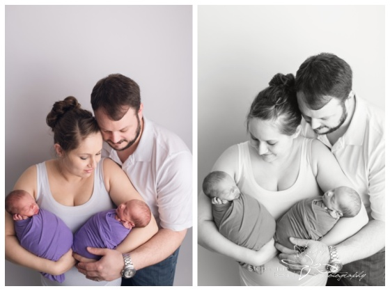 Ottawa-Studio-Newborn-Photography-Stephanie-Beach-Photography-identical-twins-girls