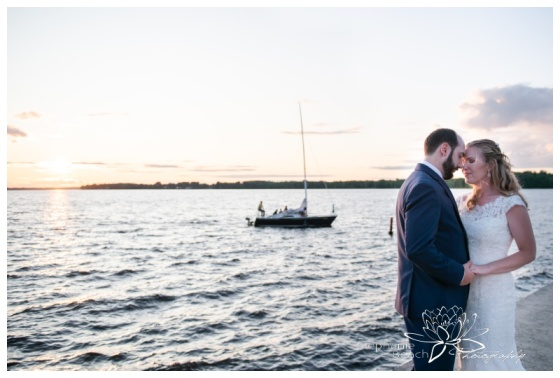 Britannia-Yacht-Club-Wedding-Stephanie-Beach-Photography-sunset