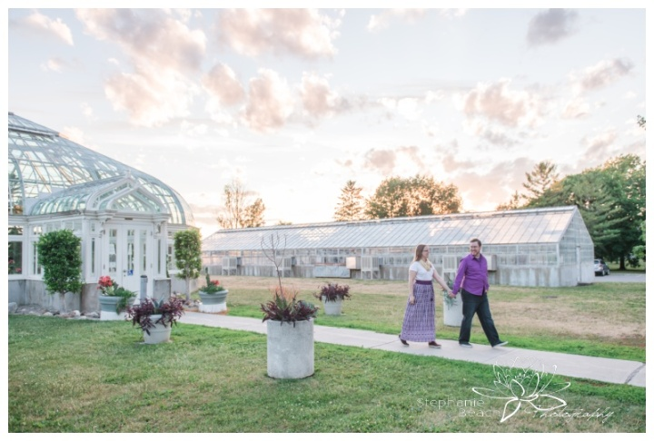 Ottawa-Arboretum-Engagement-Session-Stephanie-Beach-Photography-sunset-greenhouse