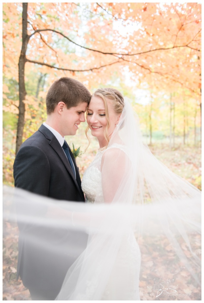 Ottawa-Fall-Backyard-Wedding-Stephanie-Beach-Photography-bride-groom-veil-swoop