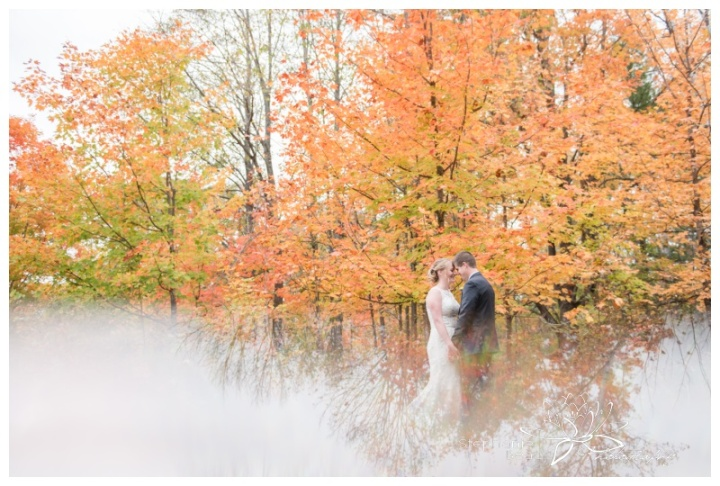 Ottawa-Fall-Backyard-Wedding-Stephanie-Beach-Photography-prism-reflection-leaves-maple
